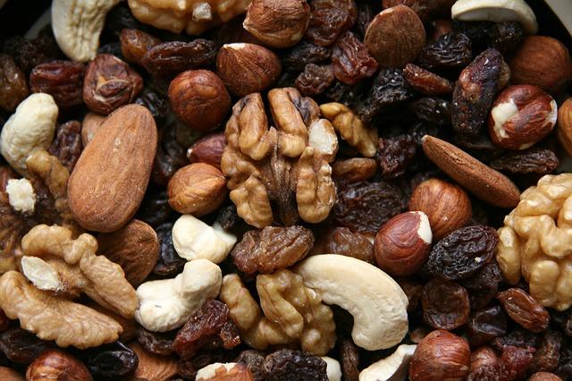 mix ořechů