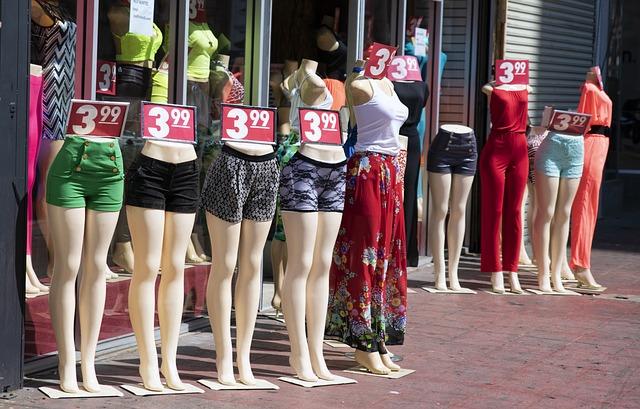obchod s oděvy