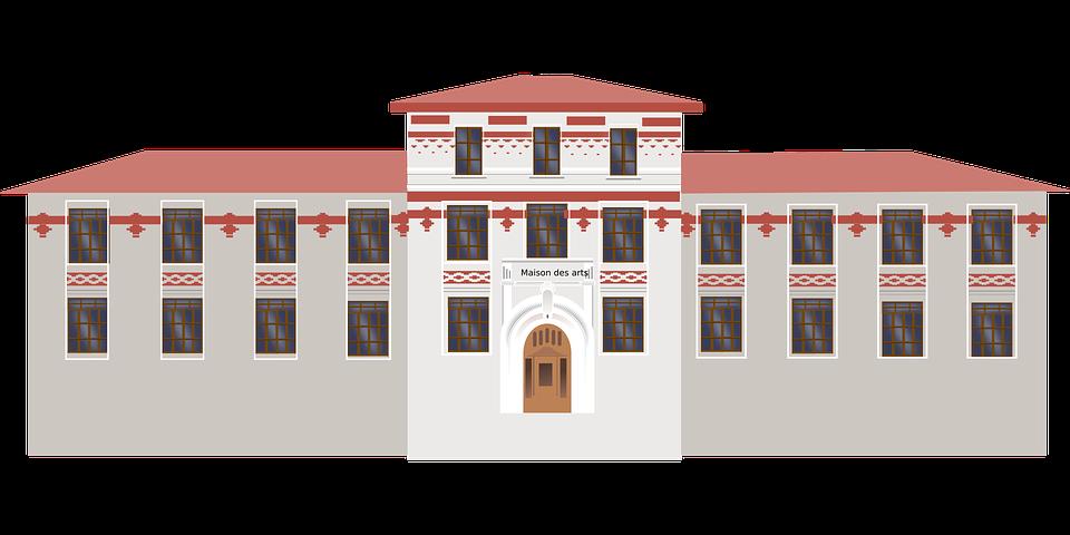 nakreslený dům